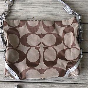 Coach purse / handbag with 'C' logos